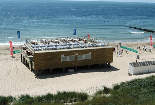 vergaderen beachclub